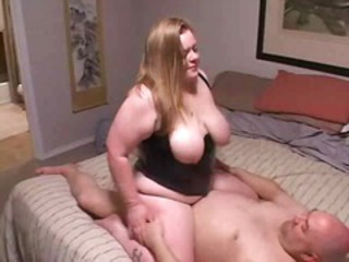 Natural Older Riding  Wife