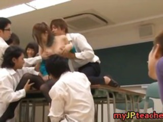 Asian Gangbang Japanese  Pantyhose School Teacher