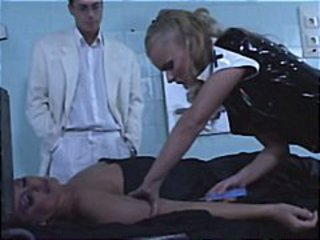 Blonde hottie Dora Venter plays one hot nurse who fucks anyone