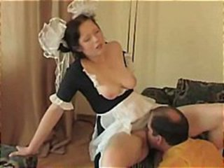 Amateur Clothed Daddy Daughter Licking Old and Young Teen Uniform