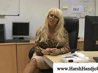 Blonde Glasses  Office Secretary