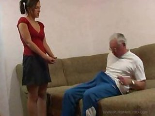 Man with erectile dysfunction and cum fake