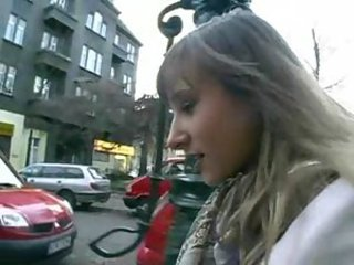 Amateur European German Outdoor Public Teen