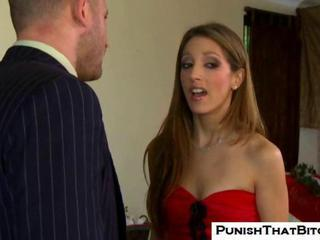 Naughty Jenna Haze gives Christmas Blowjob