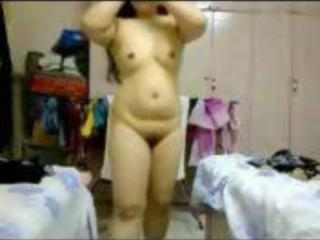 Asian Chubby Girlfriend Webcam