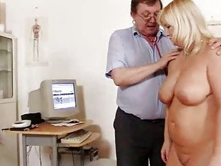 Big Tits Doctor Mature Older