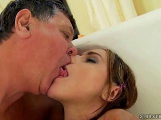 Pretty Teen Has Hot Sex With Grandpa
