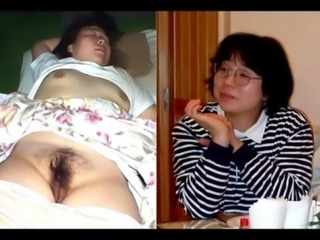 Showing pussy of my sleeping wife free