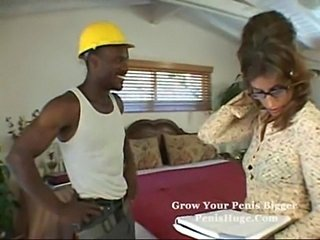 Blistering milf visited by black cock  unconforming