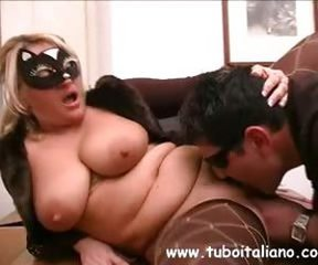 Chubby Fetish Licking Mature  Stockings
