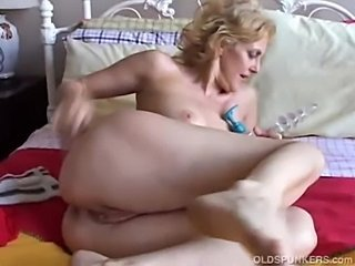 Ass Masturbating  Solo Toy