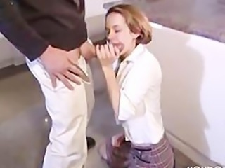 Blowjob Clothed Teen