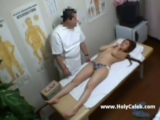 Japanese doctor fucks her patient free