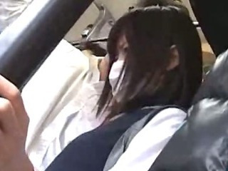 Asian Bus Public Teen
