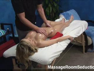 Blonde Teen Gets A Massage And Some Cock As She Gets Rubbed