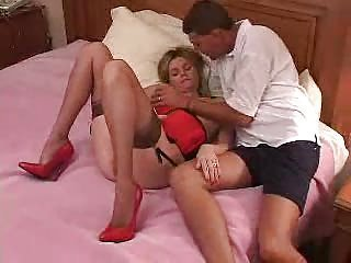 Amateur Cuckold Lingerie  Stockings Wife