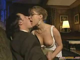 Glasses Handjob Kissing  Vintage
