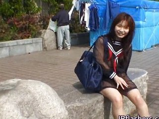 Asian Outdoor Public Student Teen Uniform