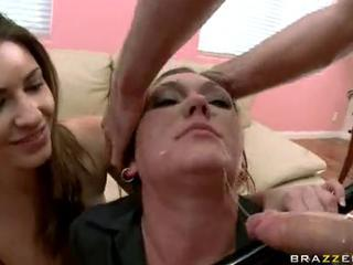 Claire Dames acquires her Mouth Teased by a Monstrous weenie ready to choke that guyr Deep