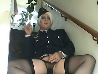 Honey B In Uniform