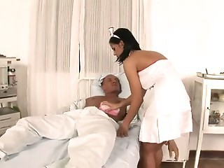 Big Tits Brunette Nurse Will Help You Heal