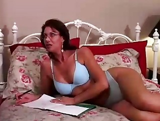 Amazing Glasses Lingerie  Pornstar