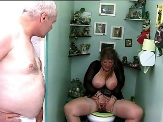 French Busty Mature Woman With Husband And Son