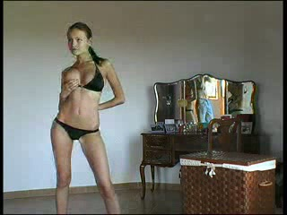 Amateur Amazing Bikini Stripper Teen