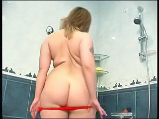 Ass Bathroom Chubby Panty Stripper