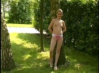Girlfriend Outdoor Panty Teen