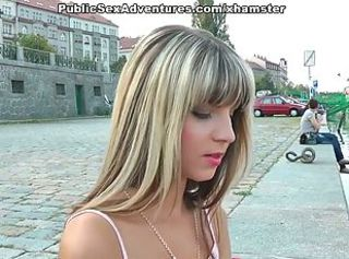 Cash Cute Public Teen