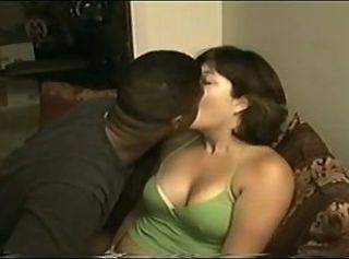 Amateur Chubby Cuckold Homemade Interracial Kissing MILF Wife
