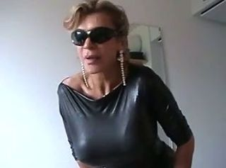 Glasses Granny Latex