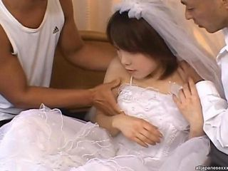 Asian Bride Threesome