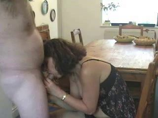 Mature UK couple make home sex video.