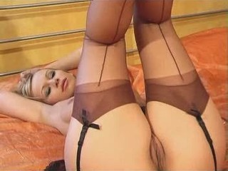 Babe Pussy Stockings