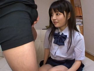 Asian Cute First Time Student Teen Uniform Virgin