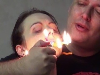 Emilys burning prisoner torture inside bound and cellblock sadism of...