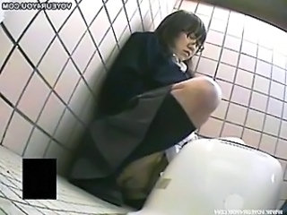 Asian Nasty Girl Toilet Masturbation