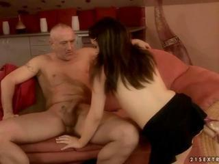 Tiffany Doll fucking with aged guy