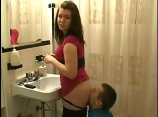 Ass Bathroom Licking Teen