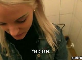 Cash European Teen Toilet
