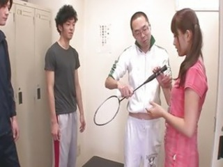 Asian Japanese Pigtail Sport Teen