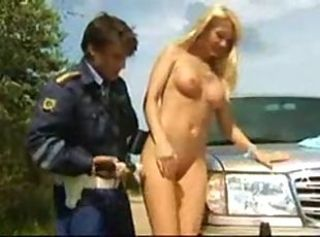 Car Outdoor Russian Teen Uniform