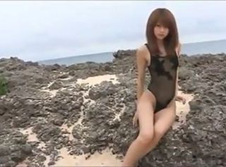 Mika Orihara and Beach