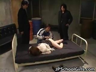 Asian Gangbang Japanese Teen