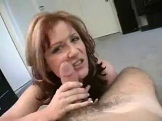 Hot Mature Cougar POV Blowjob