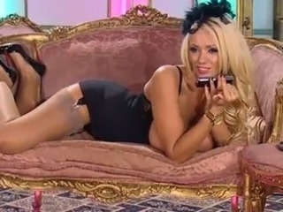 Amazing Blonde British Cute European  Pornstar Stockings