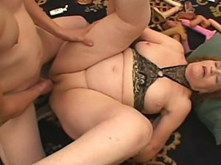 Big Fat Butt Granny gets extremely horny - 16
