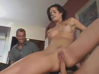 Hotwife Screws Stranger Husband likes It